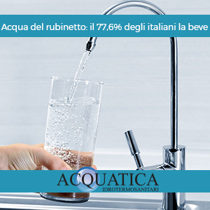 Blog acqua del rubinetto: il 77,6% degli italiani la beve