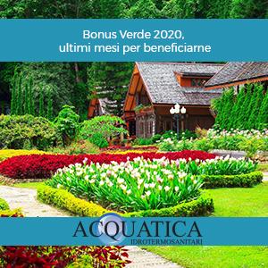 Bonus Verde 2020, ultimi mesi per beneficiarne