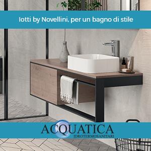 Iotti by Novellini, per un bagno di stile