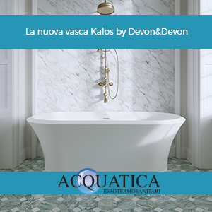 La nuova vasca Kalos by Devon&Devon