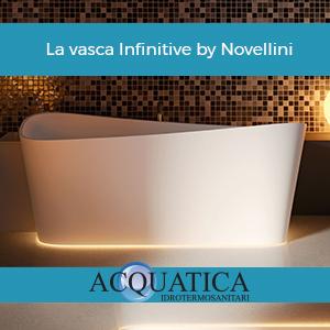 La vasca Infinitive by Novellini