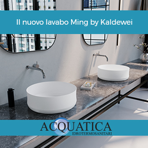 Il nuovo lavabo Ming by Kaldewei