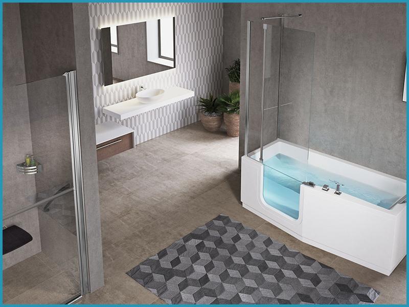 Vasca Da Bagno Troppo Lunga : Vasca o doccia? entrambe! acquatica group