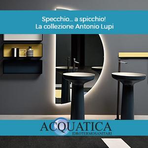 Specchio… a spicchio! La collezione Antonio Lupi